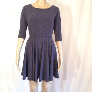 Anthropologie Puella 3/4 Sleeve Dress